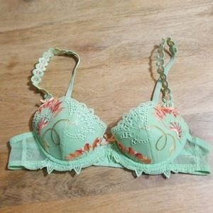Simone Perele Embroidered Ribbon Strap Bra 32B